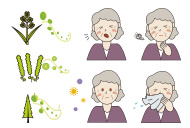 stock-illustration-36394404-age-related-allergies-in-woman-illustration